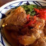 丸亀製麺ソーキうどん