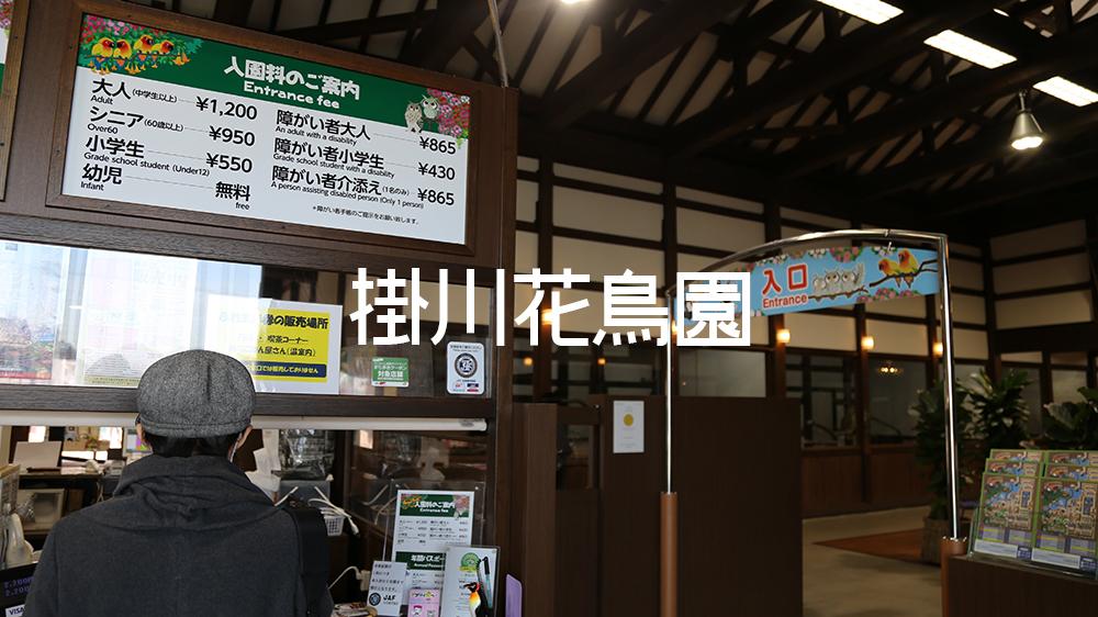 えんしゅう掛川花鳥園