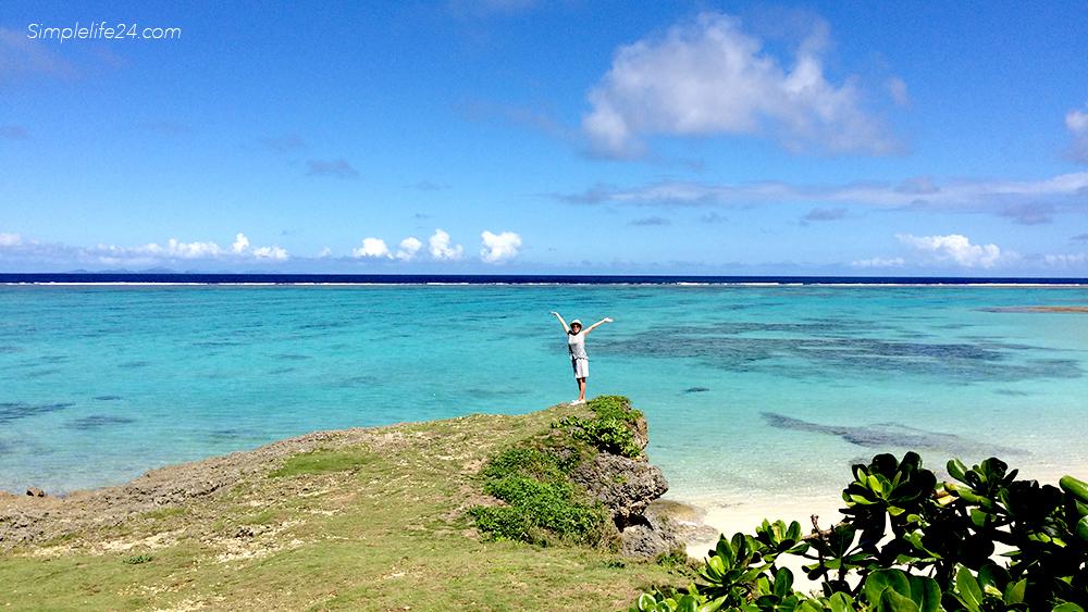 シンプルライフと沖縄の海