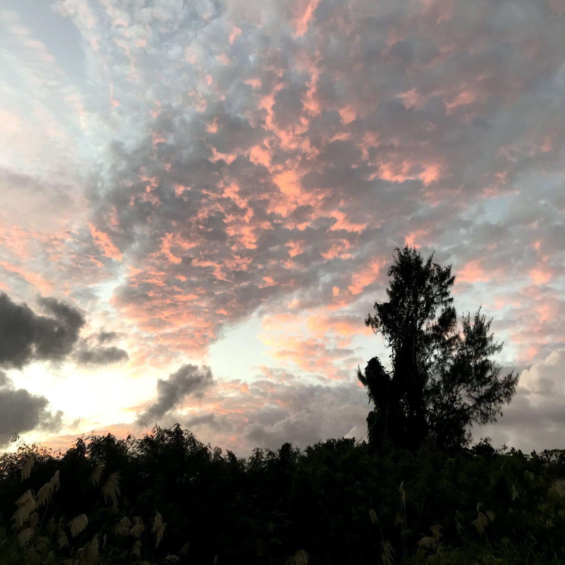 沖縄県北の空